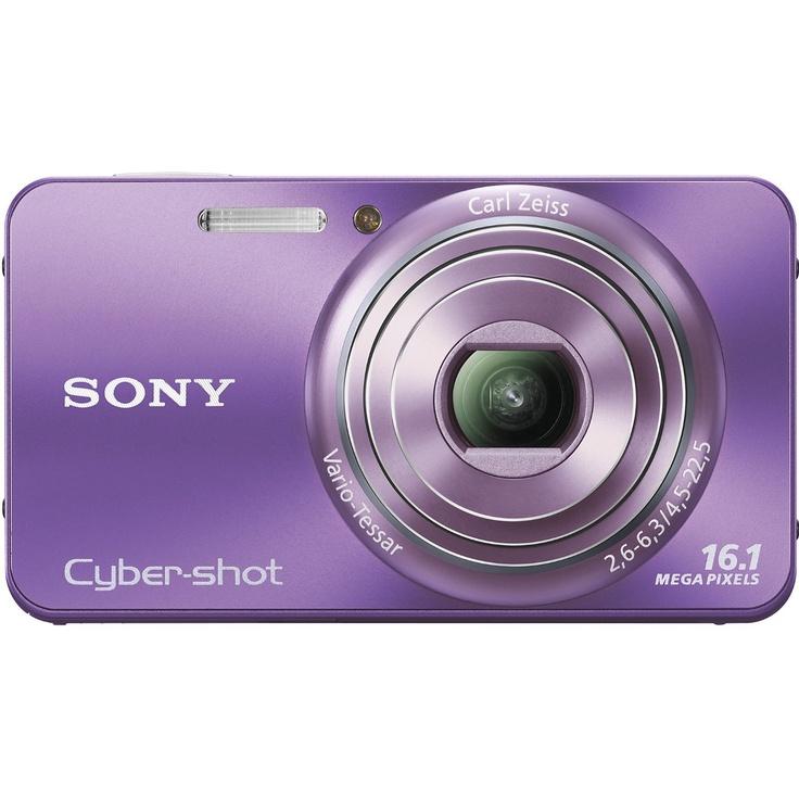 Sony DSC-W570 Digital Camera Violet #ghdcandy #violet