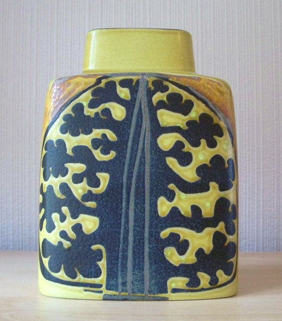 Royal Copenhagen Pillow Vase. I like things that look like they come from the period they come from. This one does that and is from the late 60s /early 70s
