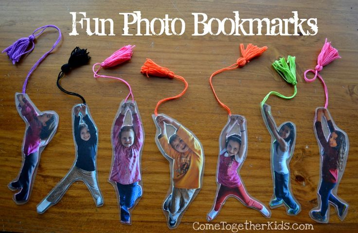 Fun Photo Bookmarks use the teacher for valentine gifts Come Together Kids: