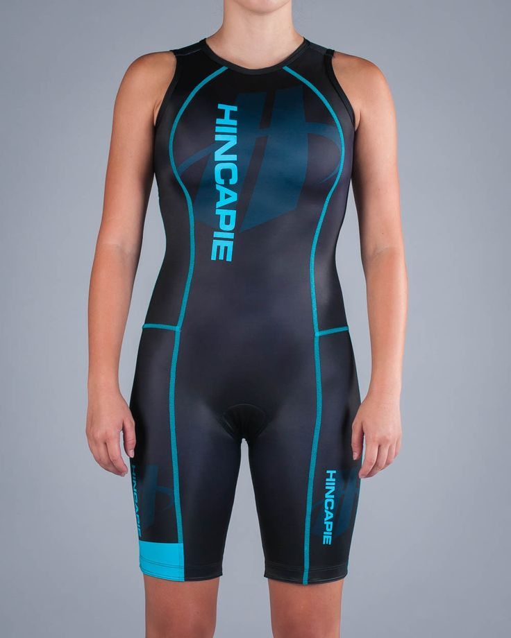 Women's Fluid Plus Rear Zip ITU Triathlon Skinsuit | Hincapie Custom