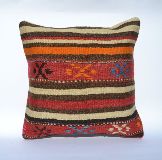 Hey, I found this really awesome Etsy listing at https://www.etsy.com/listing/183341272/kilim-pillow-cover-16x16-vintage