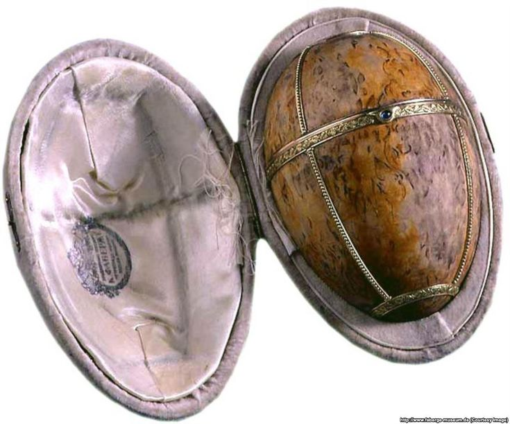 "Time was running out for both the royal family and Faberge. The Karelian Birch Egg was the last Faberge would complete. Finished shortly after the tsar was forced to abdicate during the February Revolution of 1917, the invoice sent by Faberge addressed Nicholas not as ""Tsar of all the Russians"" but as ""Mr. Romanov, Nikolai Aleksandrovich."" The royal family was held captive by Bolsheviks as civil war raged in Russia."