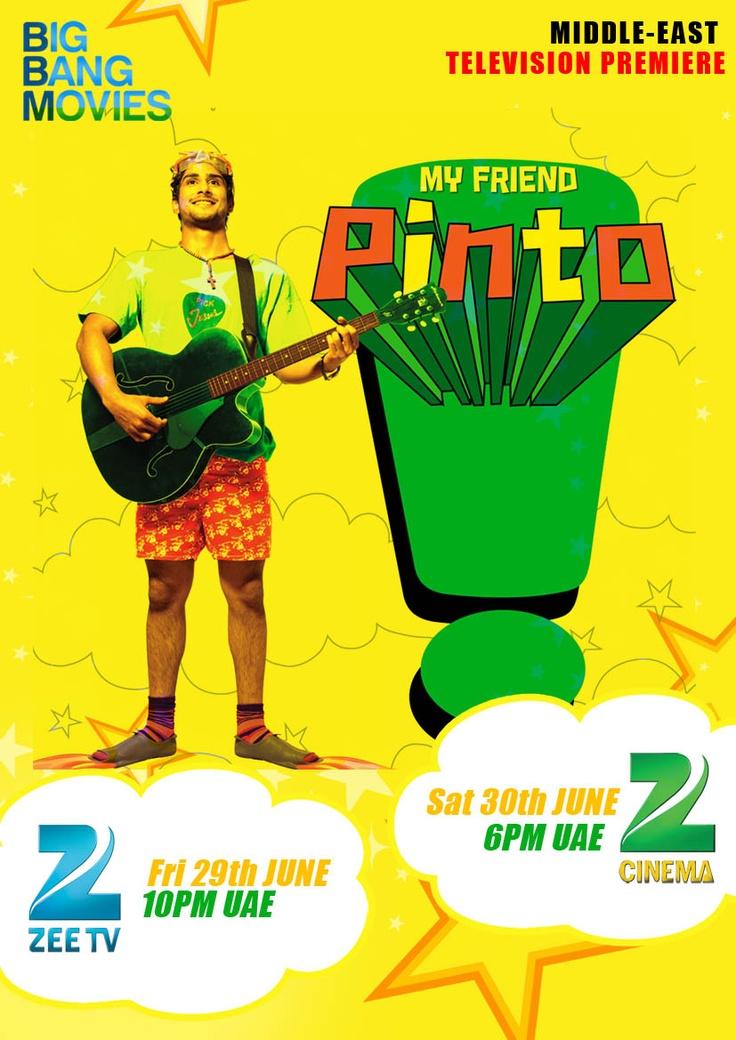 My Friend Pinto starring Pratiek Babbar and Kalki Koechlin
