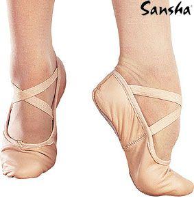 SANSHA  BALETKI SKÓRZANE ENTRECHAT 8L Just Dance sklep taneczny, buty do tańca, buty taneczne, kostiumy taniec brzucha, chusty taniec brzucha