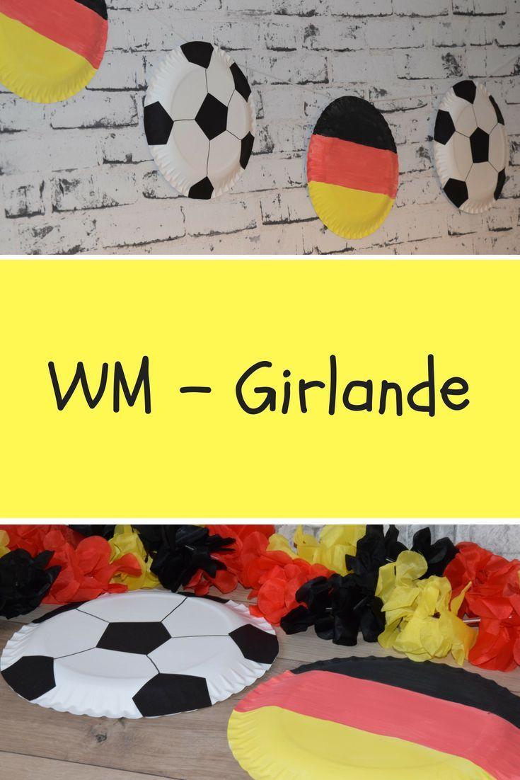 Last Minute Deko Fur Die Grosse Wm Party Kindergeburtstag Fussball