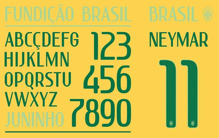 FIFAワールドカップブラジル大会用にNIKEが開発した書体が公開