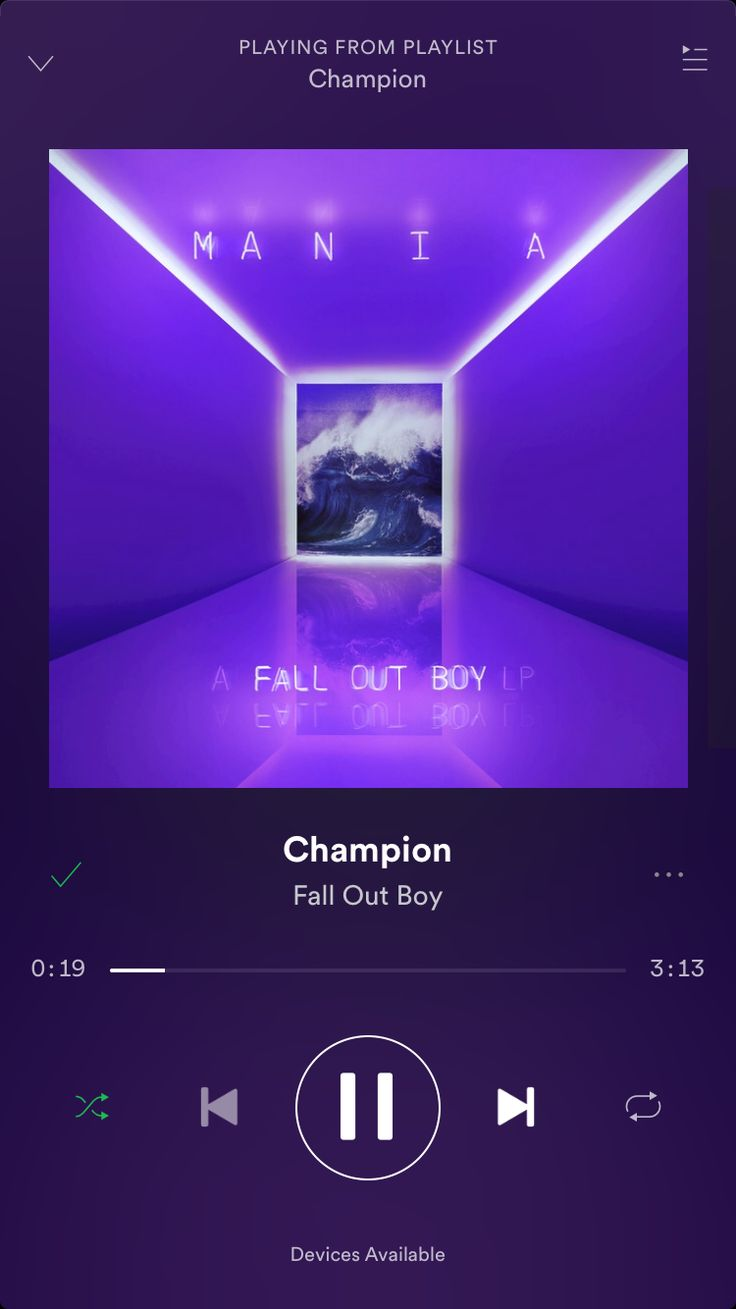 """""""Champion"""" by Fall Out Boy came out and it's so good"""