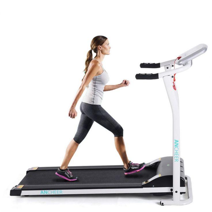 Mini Electric Treadmill Running Training Fitness - MeatHeadStuff #trainingfitness