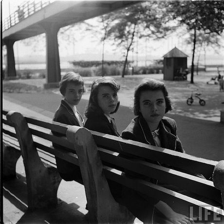 """""""teenage life in 1944.""""  -   Photographer Nina Leen joined LIFE magazine as one of the magazine's first female photographers in the mid-1940's"""