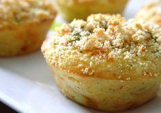Cette recette est une TUERIE ! Des petits muffins à base de chair de crabe (ou de surimi) fondants et moelleux !