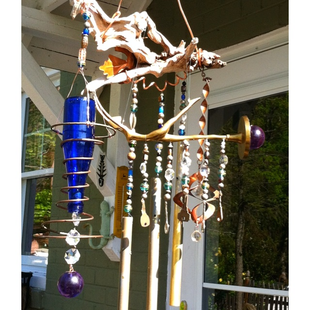 136 best images about wind chimes on pinterest wind for Koi fish wind chime