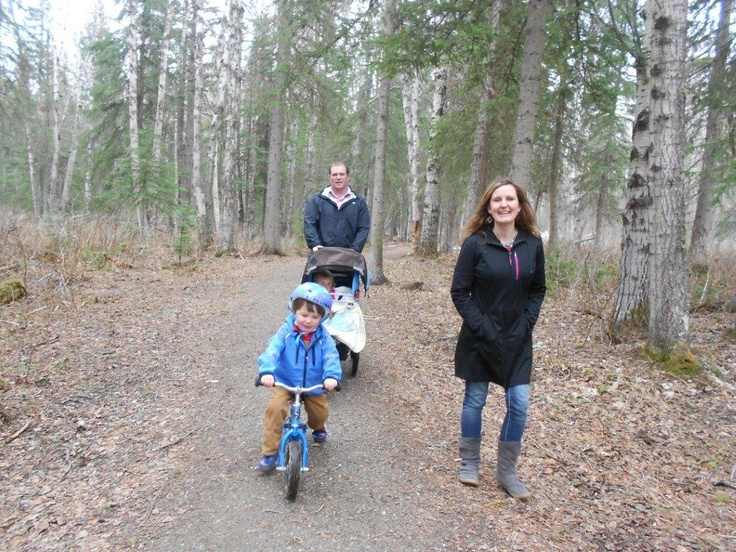 """UNBC Greenway Connector. Bring the family. Bring your friends. Go solo! Either option will provide you with fresh air, great memories and, most importantly, excercise. Like Bon Jovi said, """"The best way to free your mind is to move your body."""" Or something like that..."""