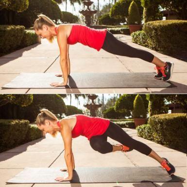 Full Plank Passé Twist