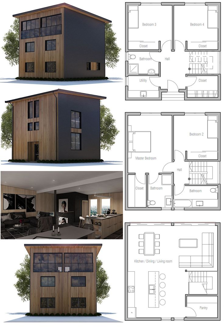 689 best images about architecture on pinterest discover Cool small home plans