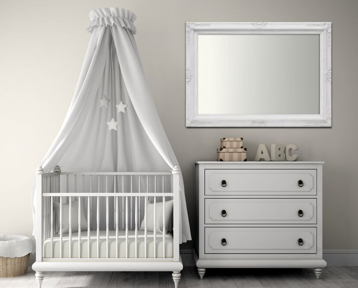 Any Color Baby Nursery Mirror Decor Boy Baroque Vanity Wall 37