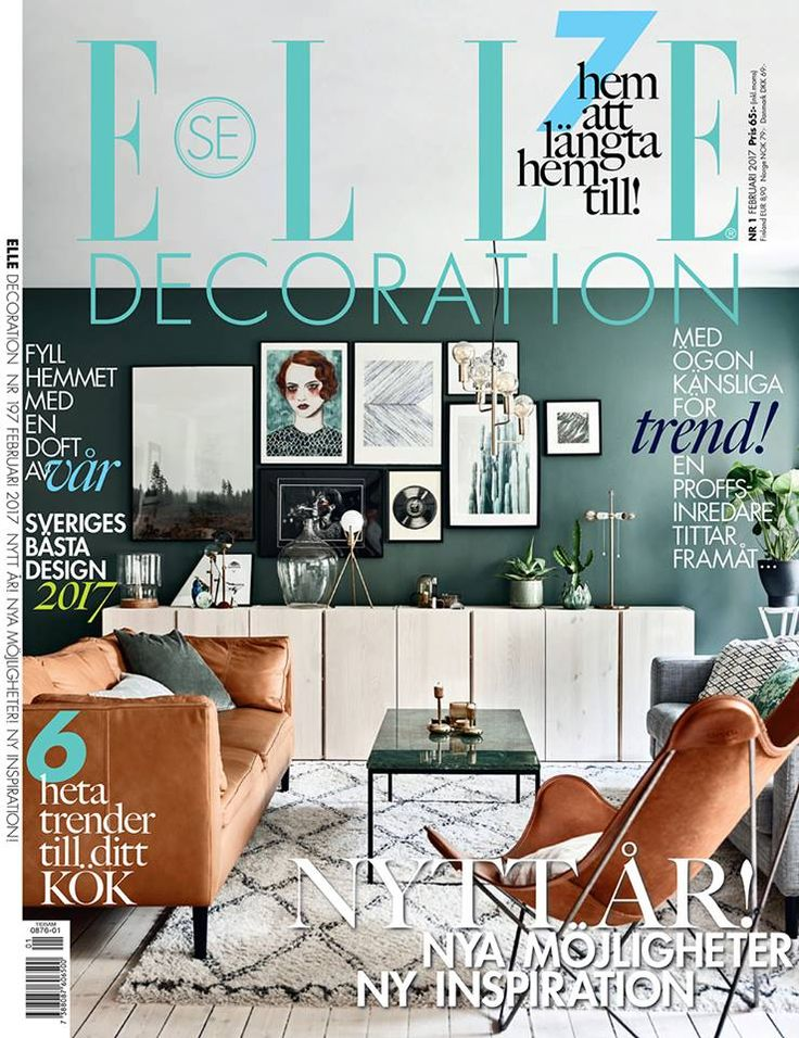 Wow, we are so proud of our dear Pampa Mariposa. It was featured on the front cover of Elle Decoration Sweden, February 2017. What a beautiful looking living room!  Beautiful picture by @andreapapiniphotographer