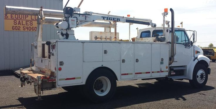 2001 Sterling Service Mechanic Truck --- Cummins, Auto, AC, Underbody Air Compressor - - - 41k City Owned Miles - - - ONLY $37,900 - - - 2 others in stock - - - HD TRUCKS & EQUIP LLC - - - (602) 510-5444 ----- www.HDTrucksAndEquipmentSales.com
