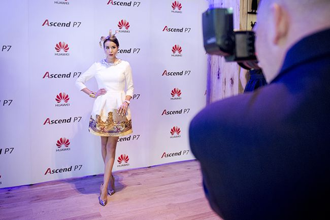Look for Huawei ASCENDP 7premiere  http://www.macademiangirl.com/2014/06/huawei-event-ascendp7-premiere.html