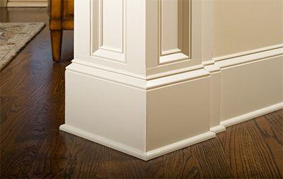 tall baseboard molding