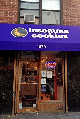 Insomnia Cookies- wherever the location is for these , one of the many places to see someday