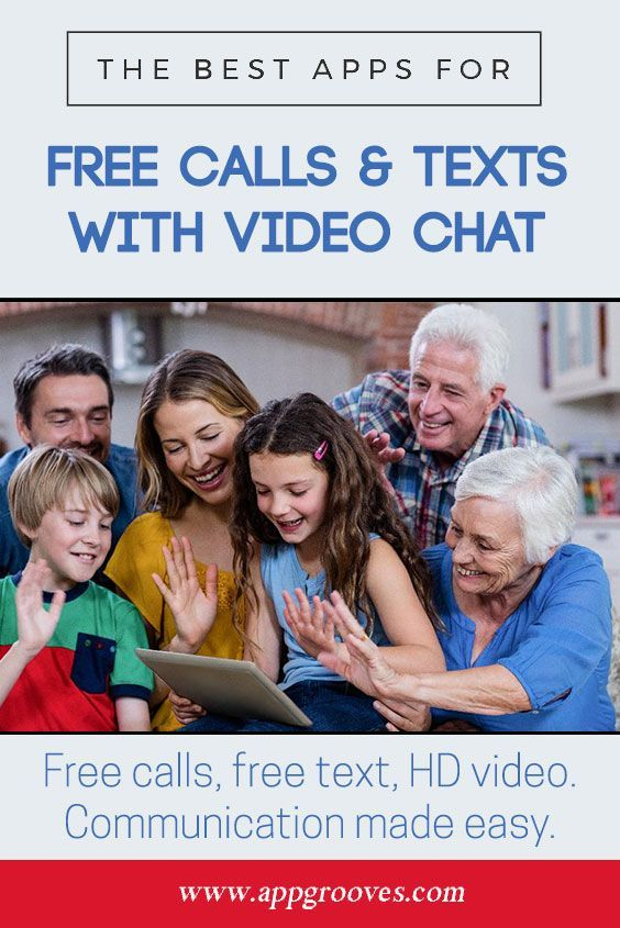 Best Apps for Free Calls & Texts with Video Chat - AppGrooves: Get