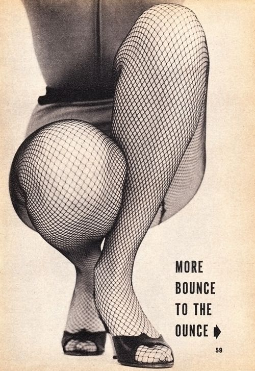 So, I might have a little more bounce to the ounce... I like curves on a woman.  And so does my hubby.