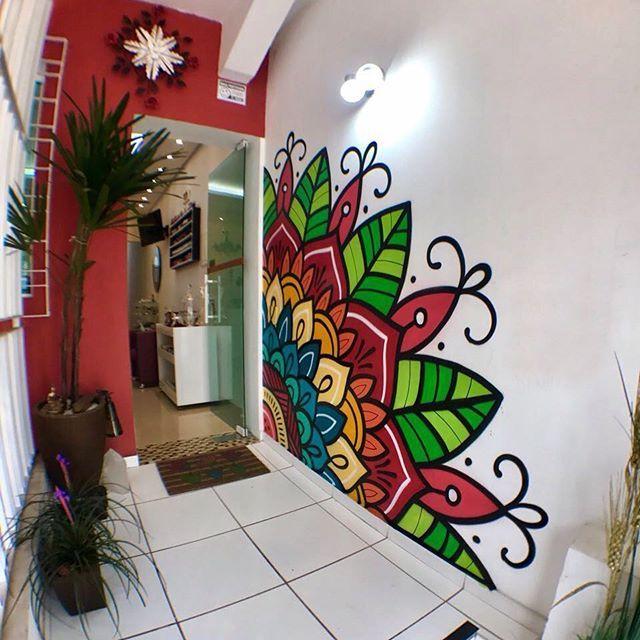 Mejores 54 im genes de paredes en pinterest murales - Decoracion de paredes pintadas ...