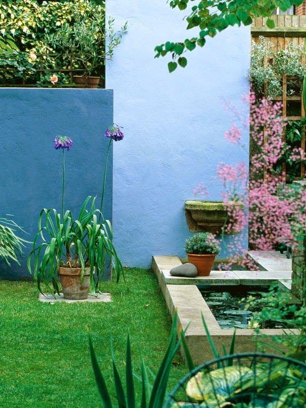 99 best jardins colorés images on Pinterest   Gardens, Outdoor ...