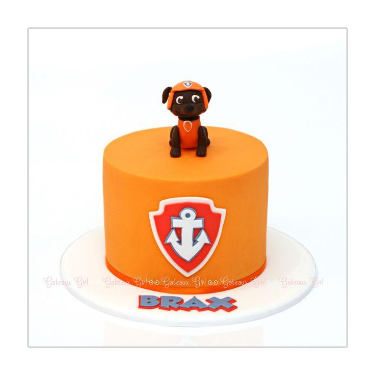 Zuma paw patrol cake, Gateaux Girl