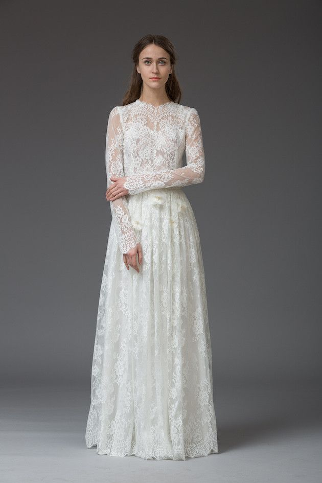 438 Best Images About Long Sleeved Wedding Dresses On Pinterest Vintage Wed