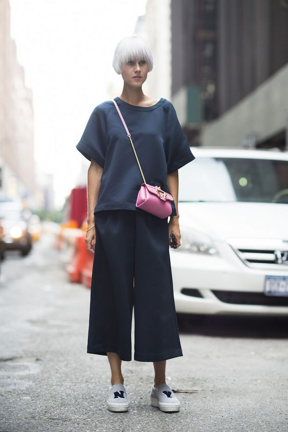 How to Style Culottes for Summer - Street Style, New Trends, Outfit Ideas