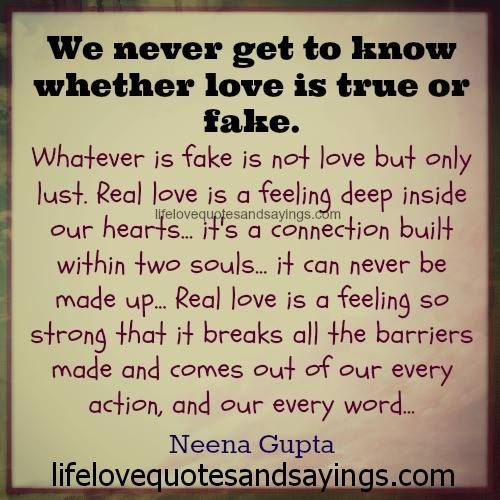 Love Is Fake Quotes: 46 Best Images About Love Quotes On Pinterest