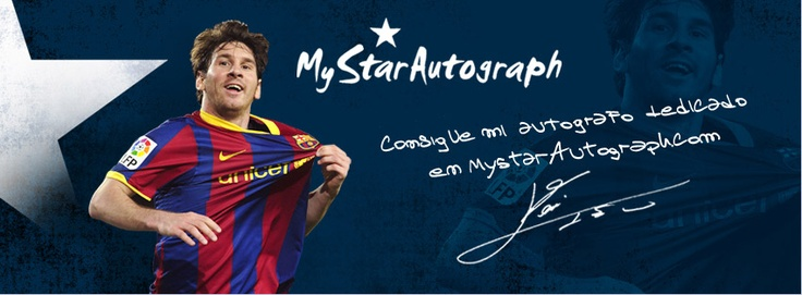 Pin by MyStarAutograph on Leo Messi Autograph | Pinterest