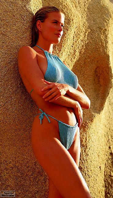 Vendela  - Sports Illustrated Swimsuit 1997 Photographed by: Walter Iooss Jr.