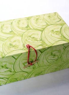 Kostas Boudouris: box with paste paper