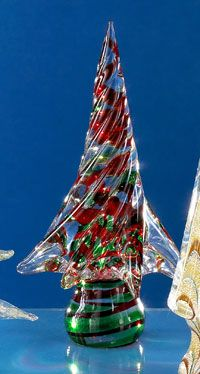 49 best Vintage Murano Xmas Trees images on Pinterest | Christmas ...