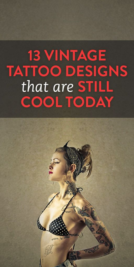 13 Vintage Tattoo Designs That Are Still Cool Today .ambassador