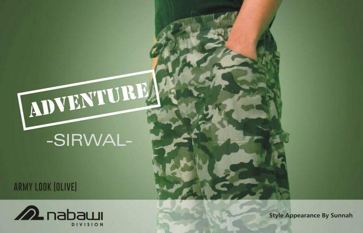 Adventure Sirwal Dark green