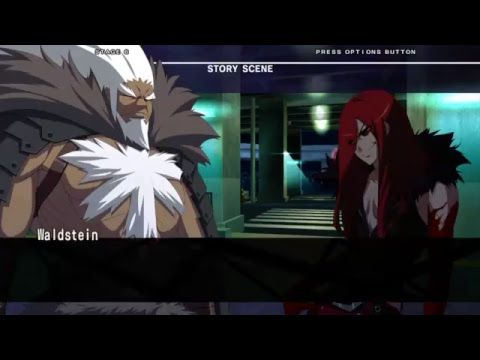 Under night in-Birth exe:late[st] Arcade mode Waldstein ps4