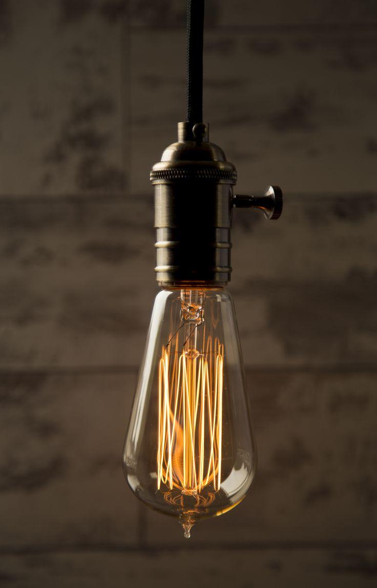 William & Watson - Medium Tear Drop - Vintage Bulb