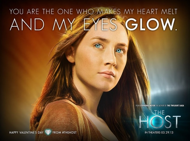 The Host (Written by Stephanie Meyers - Author of the Twilight Saga) is coming to the big screen on March 29, 2013. Not sure if you want to see it? Watch the movie trailer, then take a gander at the movie stills and posters below. I haven't read this book yet, so I'd love some informed fan input. Do you think this one will be worth seeing?