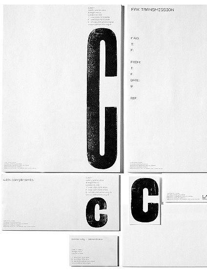 Set of stationery. #design #modernism