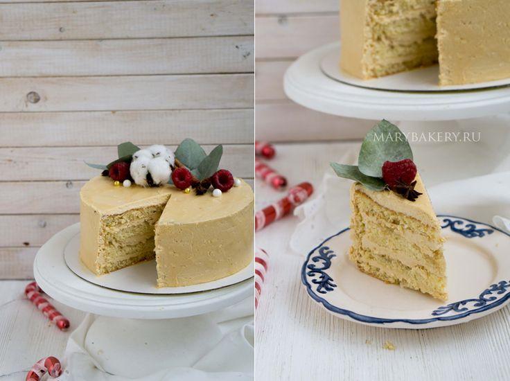 ТОРТ КОФЕЙНЫЙ МОККО (Moka au Café) — Mary Bakery