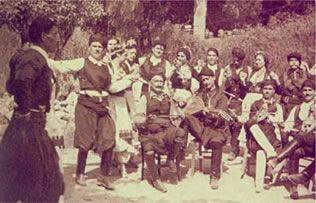 Κρητική μουσική και χορός στο Ρέθυμνο Κρήτης.