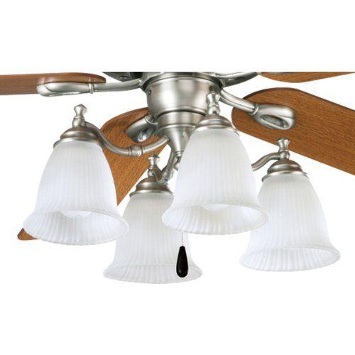 Progress lighting p2625 81 renovations ceiling fan light kits by progress lighting progress lighting p2625