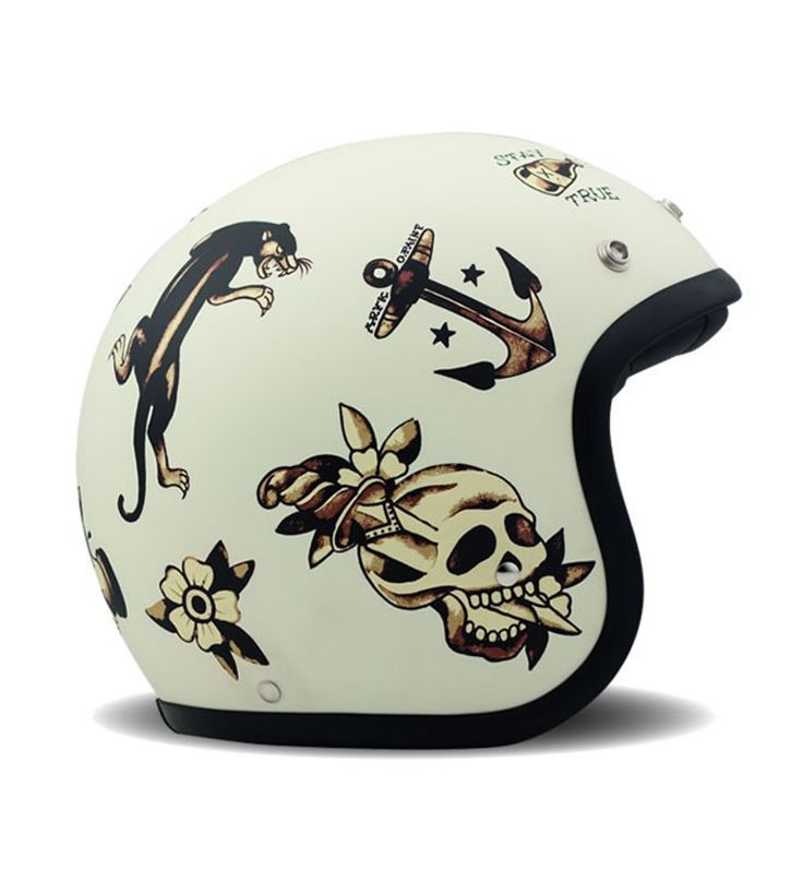 #Casque DMD Vintage Old School #lifestyle #moto