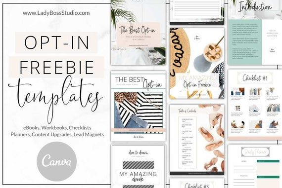 Canva Branding Templates Bundle, Fresh, Canva Templates, Social Media, Opt-in Freebie, Business, Web Branding Kit, DIY Design, Boho
