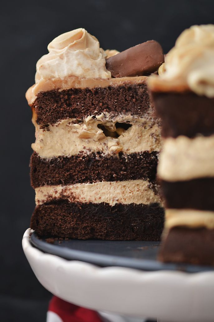 Kraina Sosny: bezglutenowy tort snickers