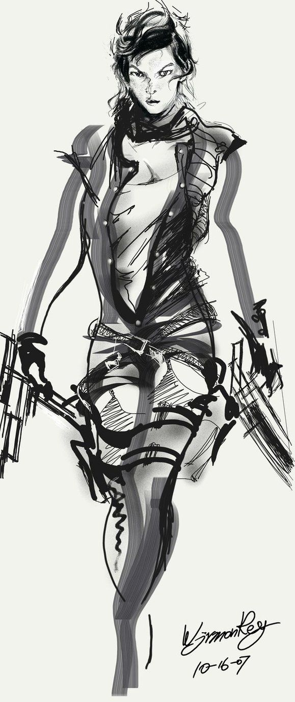 Resident Evil Extinction by ~wjrmonkey on deviantART