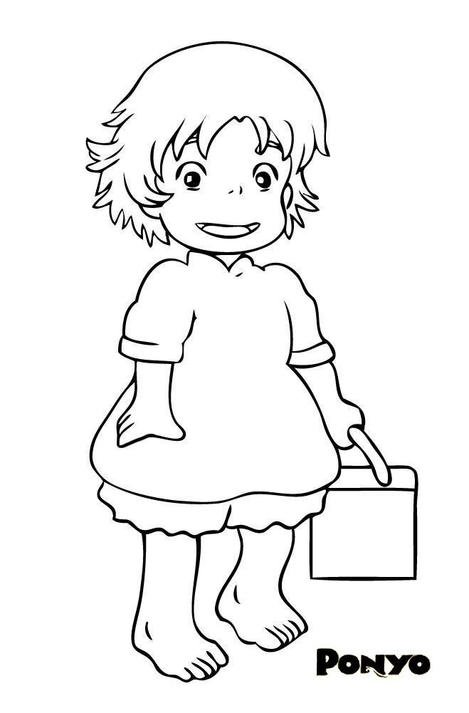 Manga studio ex 5 coloring pages ~ 53 best images about studio ghibli coloring pages on ...